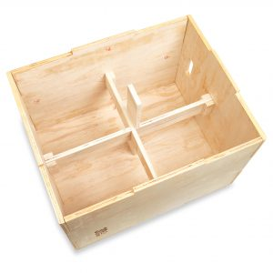Plyo Box With Center Structure