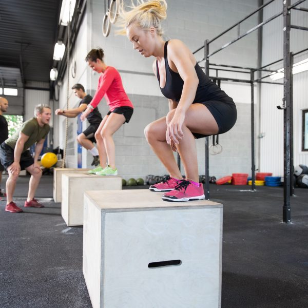 Plyo Box Training