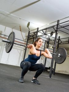 4 day training split for women