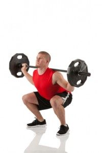 proper squat form key to safety and mass building