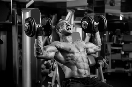 getting wicked shoulders and traps